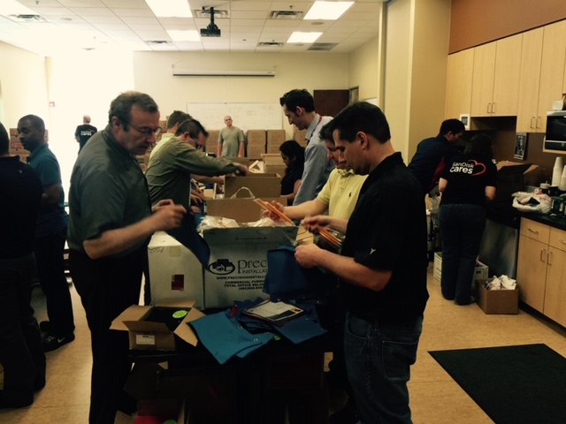 Western Digital Backpack Stuffing