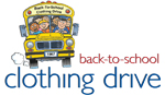 back-to-school clothing drive