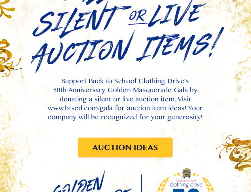 Live and Silent Auction Wish List – A Call to Action!