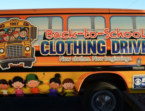 Back-To-School Clothing Drive Celebrates 50 Years Of Service