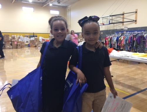 300 Children in Foster School, 250 from Children's First Academy to receive clothing to go BACK TO SCHOOL!